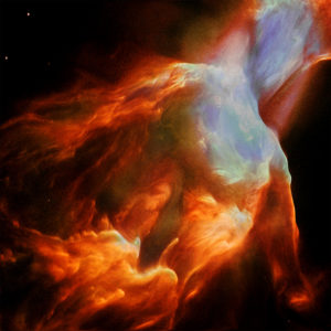 Cosmic Journey Nebula - Square