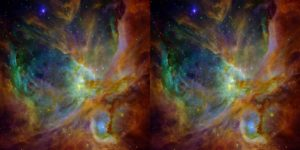 Cosmic Journey Stereo Side by Side