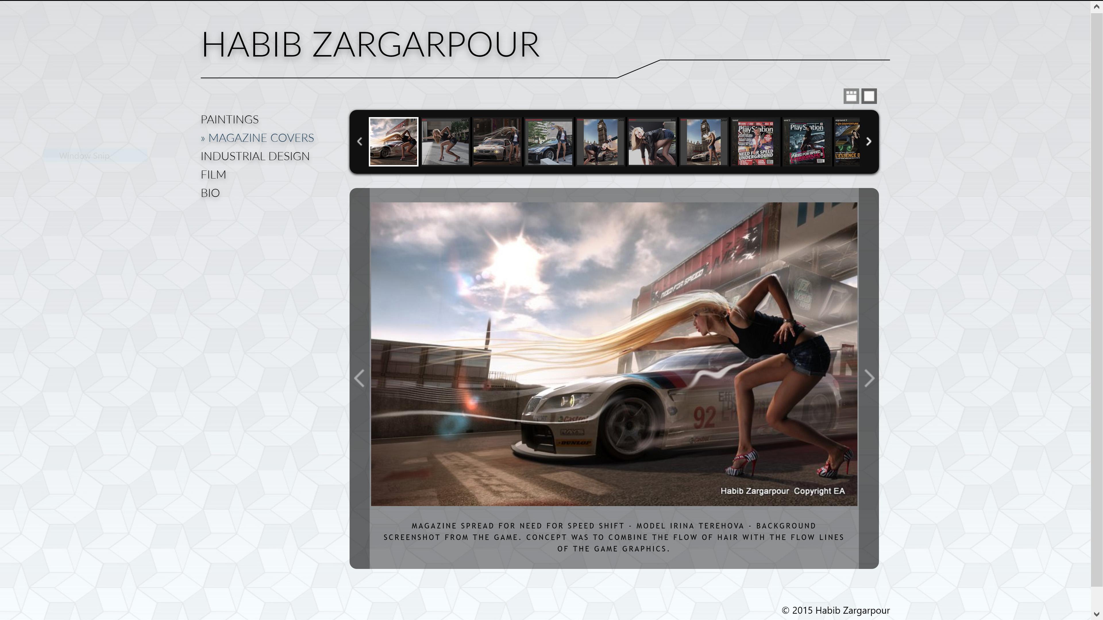 Zargarpour.net Screenshot
