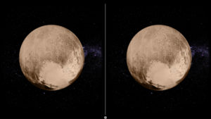 Pluto FlyBy VR - Pluto