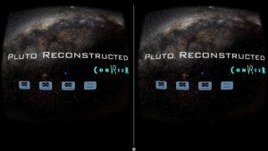 Pluto FlyBy VR - Main Menu
